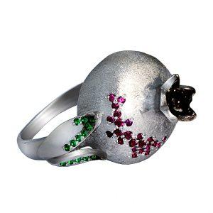 гранат кольцо